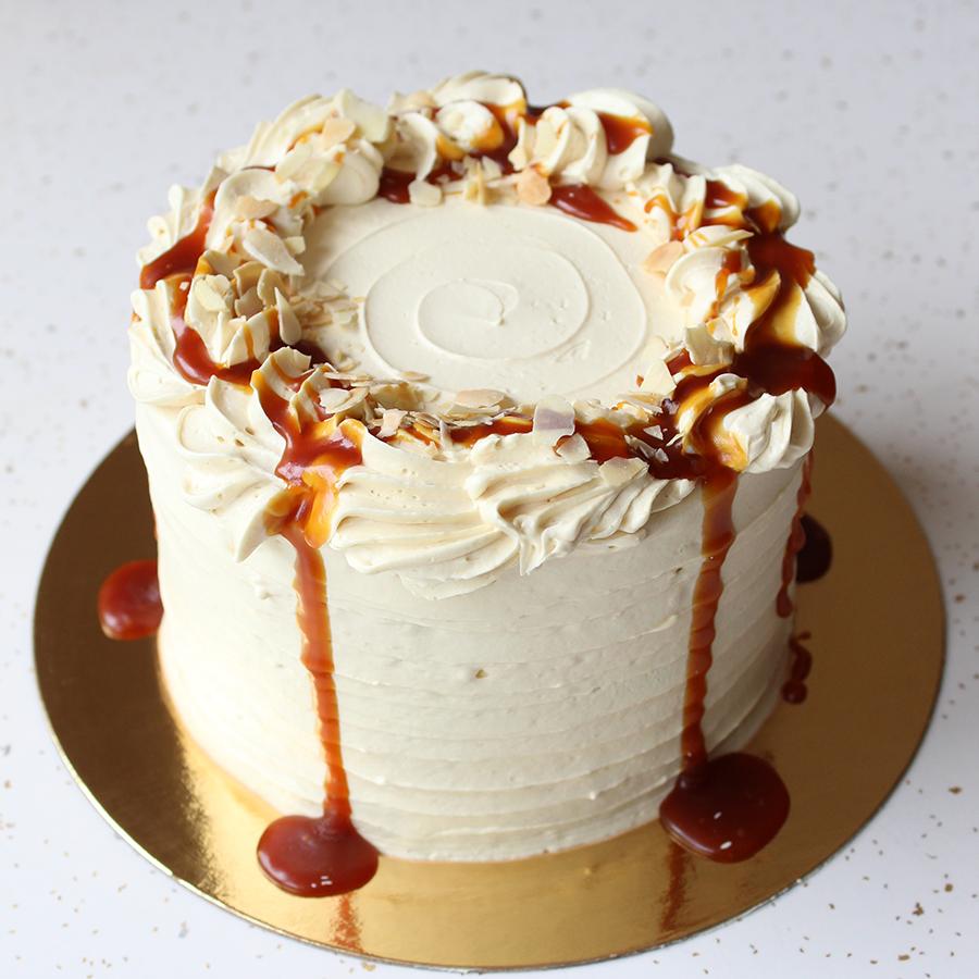 Almond Caramel Cake by Sophie Sucree