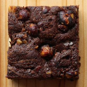 Chocolate Hazelnut & Sea Salt Brownie by Sophie Sucree