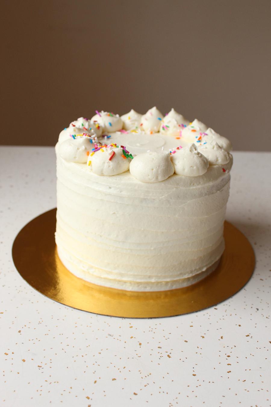 Vanilla Cake by Sophie Sucree