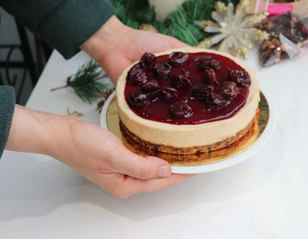 Cherry Cheesecake at Sophie Sucree