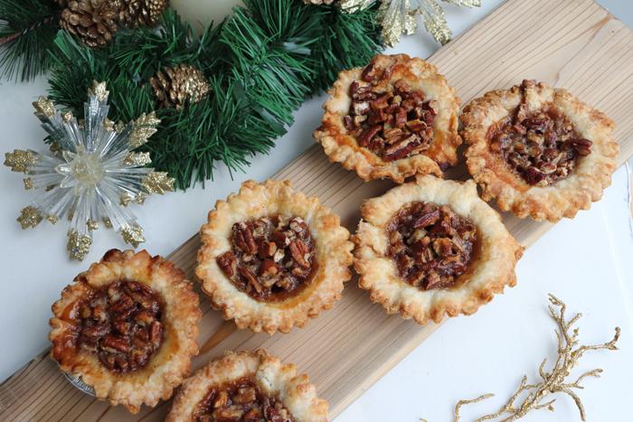 Christmas Tarts at Sophie Sucree