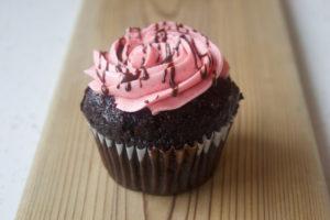 Chocolate Raspberry Cupcake at Sophie Sucree